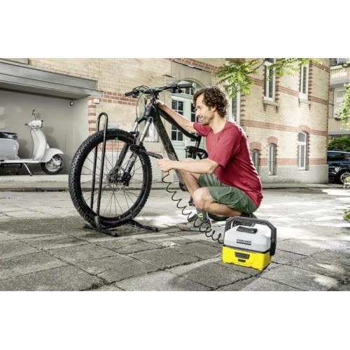 Портативная мойка Karcher OC 3 с комплектом для очистки велосипедов