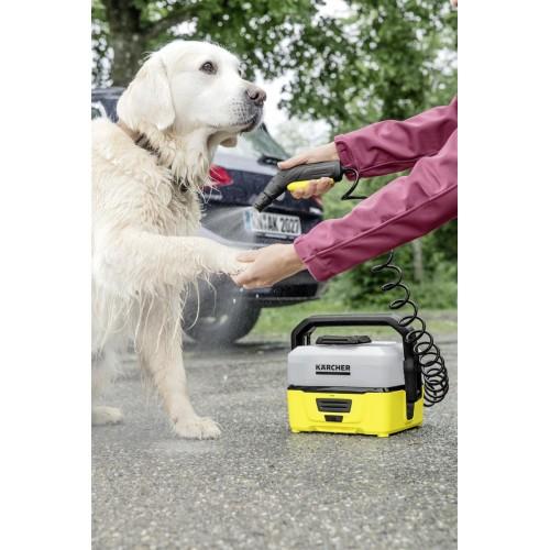 Портативная мойка Karcher OC 3 с комплектом для очистки животных